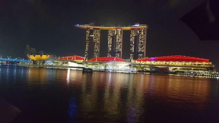 Marina Sands Hotel Night